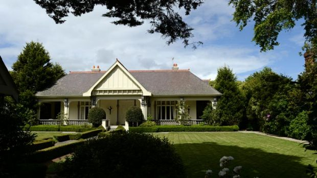 Hey, big spender: The property in Toorak that Wang Hua bought for more than $20 million.