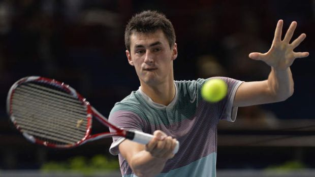 Australia's Bernard Tomic is under pressure to live up to his potential.