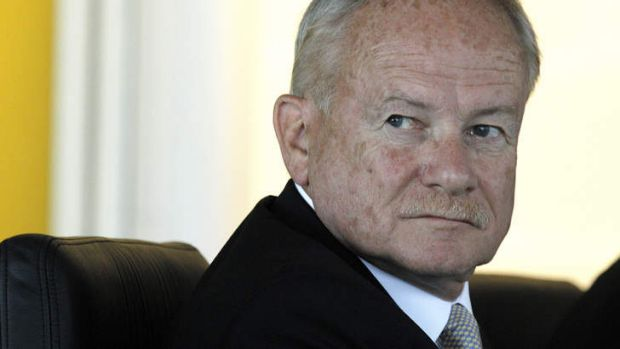 The commission of audit's chairman, Tony Shepherd, is a former head of the Business Council of Australia.