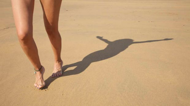 Sally was told not to walk barefoot or it would harm her chances of becoming pregnant.