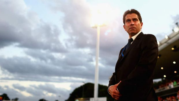 In the firing line?: Farina's Sydney FC have won just once game this season but chairman Scott Barlow says he still has ...