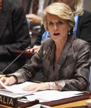 Julie Bishop: Her explanations have not pleased the Indonesians.