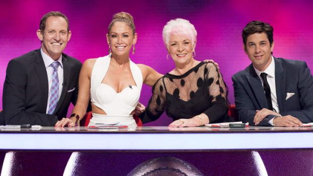 <i>Dancing with the Stars</i> judges.