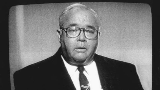 Laurie Oakes, pictured here in 1995.