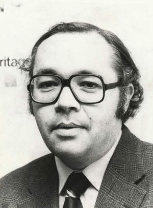 Laurie Oakes, pictured here in 1978.