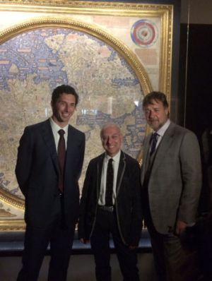 National Library of Australia Council chairman Ryan Stokes, director of the Biblioteca Nazionale Marciana in Venice ...