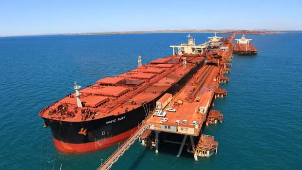 China is fuelling iron ore demand.