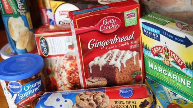 Some US food items that contain trans fat. The US Food and Drug Administration is considering banning the ingredient.