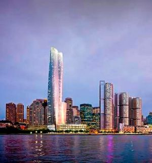 The proposed Crown Sydney hotel resort at Barangaroo.