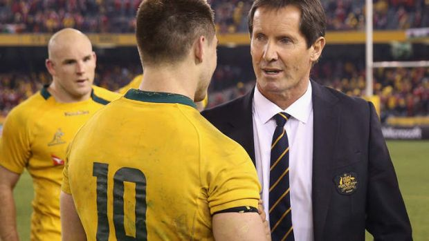 Robbie Deans left the role with a 58 per cent win rate.