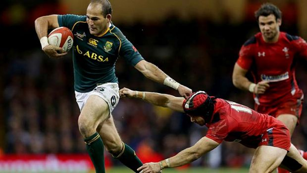 Fourie Du Preez scored the match-sealing try for the Springboks.