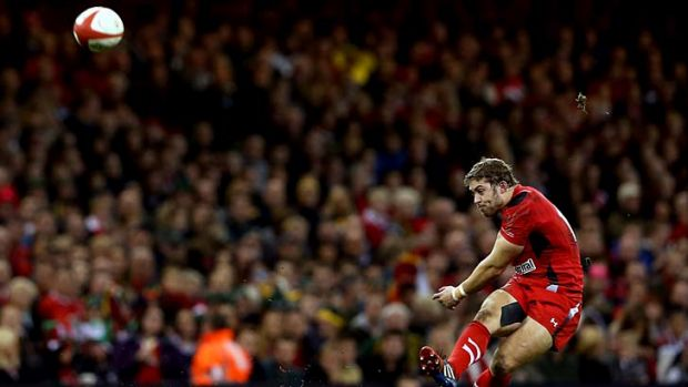 Leigh Halfpenny kicked all of Wales' points.