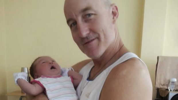 Kevin Lee with daughter Michelle. The former priest drowned after disappearing in rough surf off Samar Island in the ...