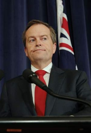 """""""The Abbott government's border protection policy is in tatters"""": Labor leader Bill Shorten."""
