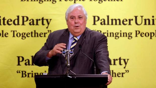 Defiant: Clive Palmer wants the carbon tax declared unconstitutional.