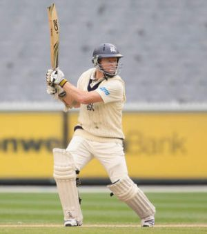 Fighting fit: Chris Rogers.