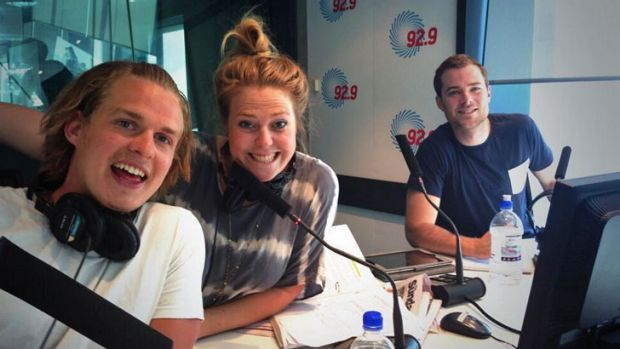 Woody Whitelaw, Heidi Anderson and Will McMahon kicked off their 92.9 breakfast show on November 11.