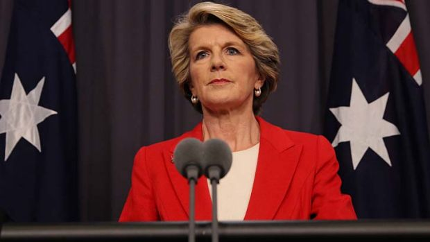 Foreign Affairs Minister Julie Bishop opposes a UN resolution to condust an independent war crimes investigation in Sri ...