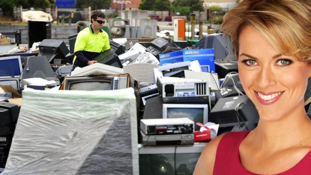 In 2011-12 only 10 per cent of the 29 million computers and TVs thrown out were recycled.