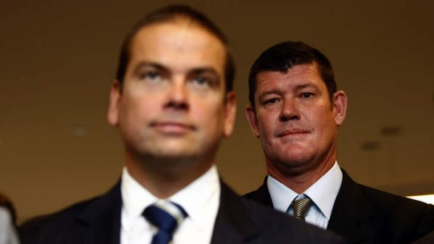 "Rescue plan: Lachlan Murdoch and James Packer join billionaire Bruce Gordon in a plan to guarantee a ""covenant lite"" ..."