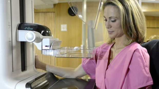 Test shock: Amy Robach discovered she had breast cancer after undergoing an on-air mammogram.