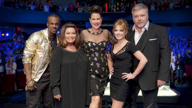 <i>Australia's Got Talent</i> could be in trouble, with soft ratings when compared to <i>The X Factor, The Voice</i> and ...