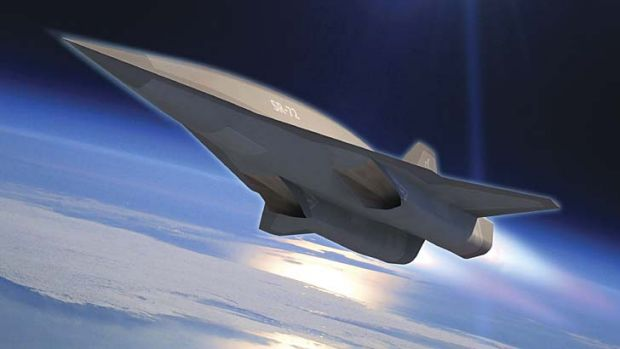Military assault weapon: Lockheed Martin's planned SR-72.