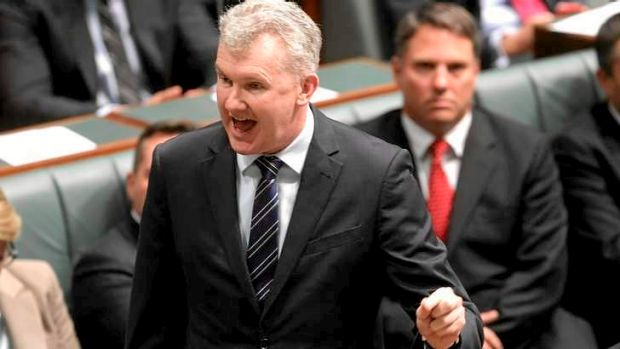 Manager of Opposition Business Tony Burke moved a motion to call Immigration Minister Scott Morrison to explain the ...
