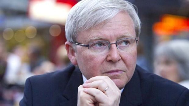 Kevin Rudd: 'There comes a time in every politician's life when their family says enough is enough.'