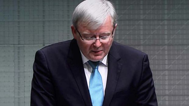 """I wish Australia well"": Kevin Rudd resigns from Parliament."