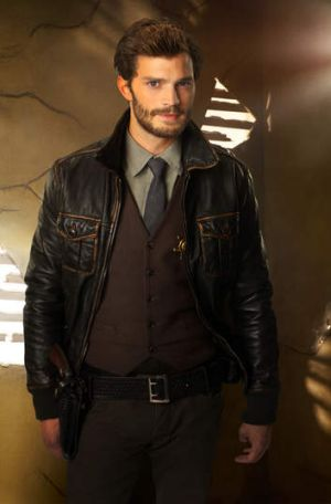 Northern Irish actor Jamie Dornan plays the kinky Christian Grey.
