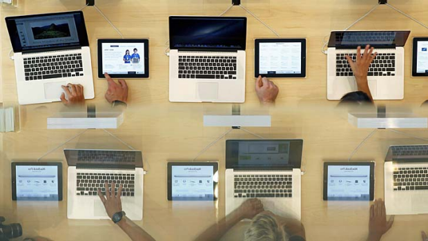 Taking over: Apple's MacBook Pro line.