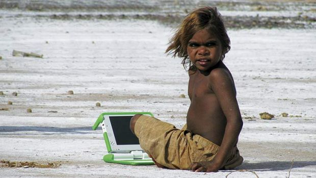 XO laptops have made it to the Rawa Community School in Western Australia.
