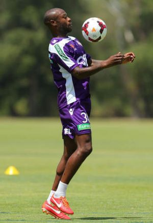 Perth Glory's William Gallas.