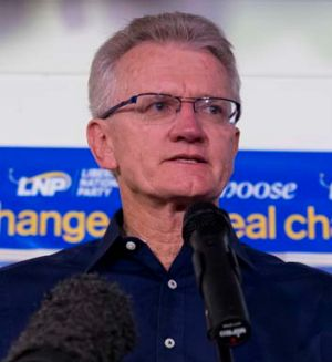 LNP candidate for the seat of Griffith, Bill Glasson.