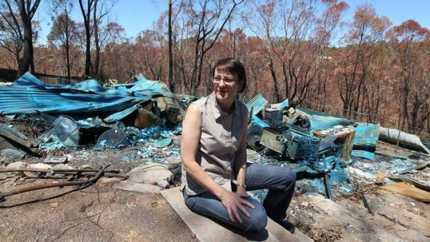 """""""Used to giving to charities, not receiving from them"""": Susan Templeman."""