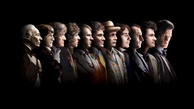 The eleven doctors of Doctor Who who have appeared over the 50 years the series has run. In the new mini-episode, Paul ...
