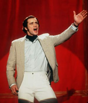 Jim Carrey played the late comic Andy Kaufman in <i>Man on the Moon</i>.