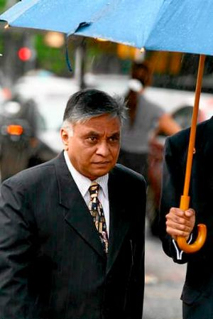 To be sentenced of four fraud charges: Jayant Patel.