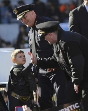 """""""Batkid"""" saves the day."""
