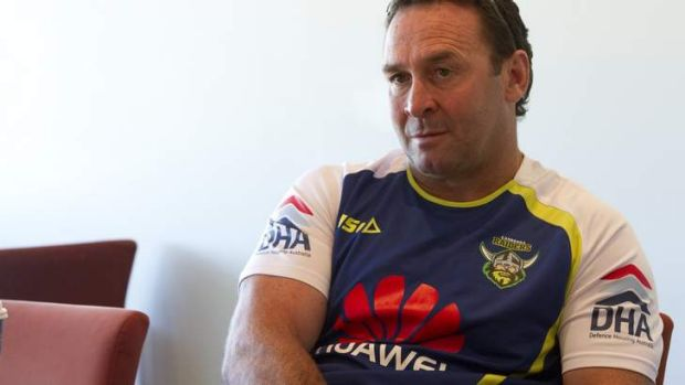 Listened to players: Raiders coach Ricky Stuart.