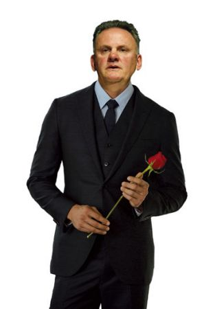 Fantasy role: What Mark Latham might look like on <em> The Bachelor</em>.