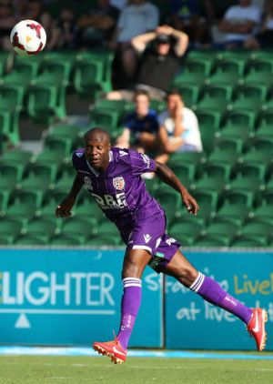 Strong start: Perth's new recruit William Gallas.