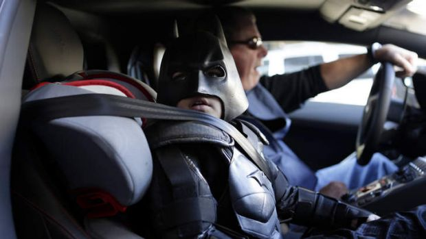 Five-year-old leukaemia patient Miles Scott got his wish to be Batkid and fought crime for a day as San Francisco turned ...
