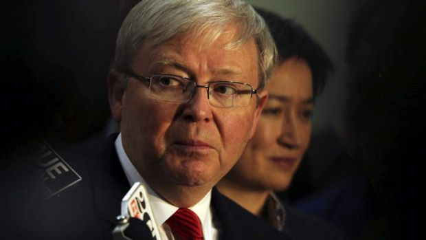 Kevin Rudd says he won't be a special peace envoy to Syria.