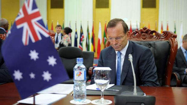 """""""I'm here as the representative of the country that wants to do the right thing by Sri Lanka: Prime Minister Tony Abbott."""