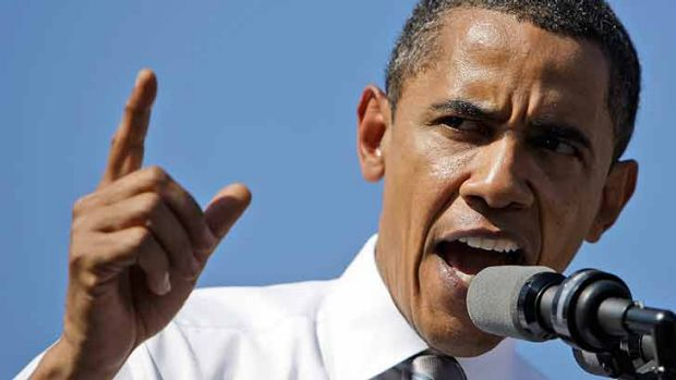 US President Barack Obama steps up climate change efforts.