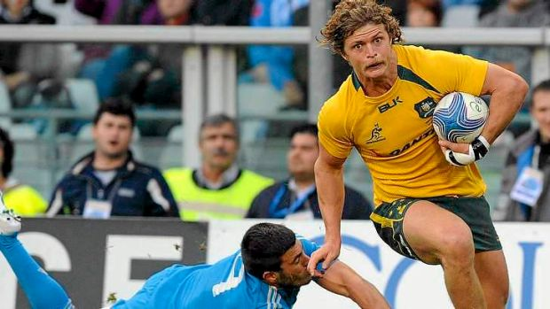 Nick Cummins had burst open the door to international rugby.