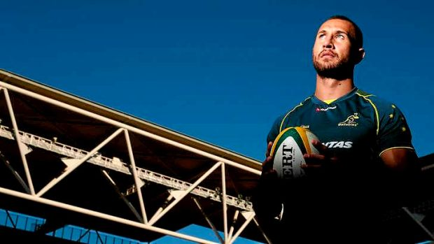 Showed maturity: Wallabies vice-captain Quade Cooper.