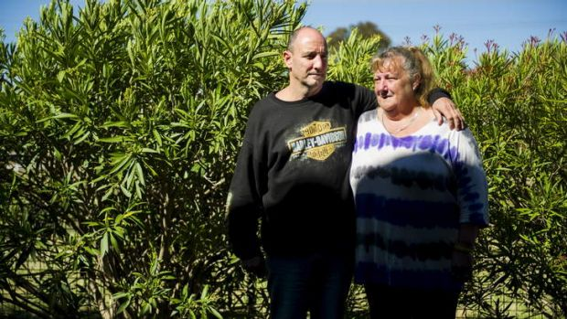 Brother and sister of window washer Lindsay Mitchell, Billy Mitchell and Ann Gibson, from Melbourne.